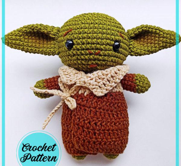 Cute Baby Yoda Amigurumi Free Crochet Pattern