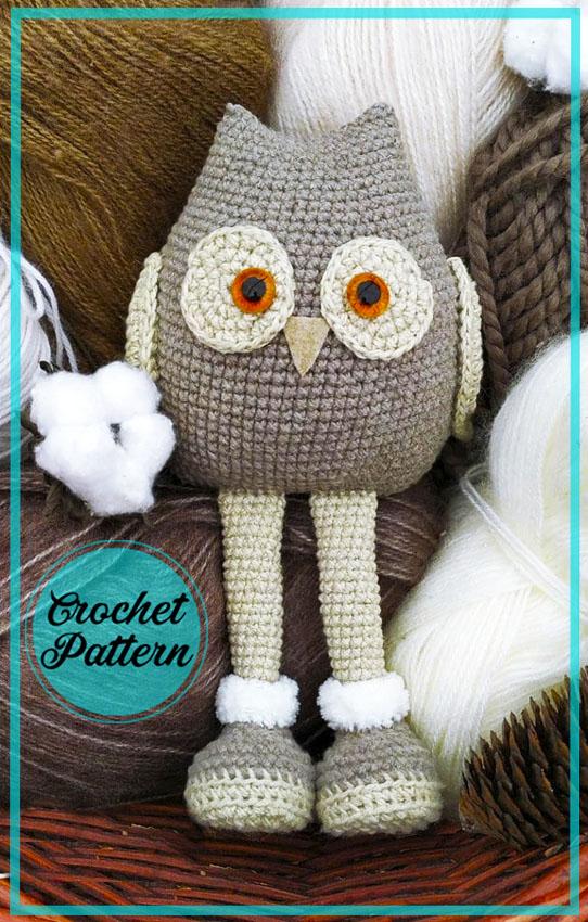 Little Owl Amigurumi Crochet Free Pattern