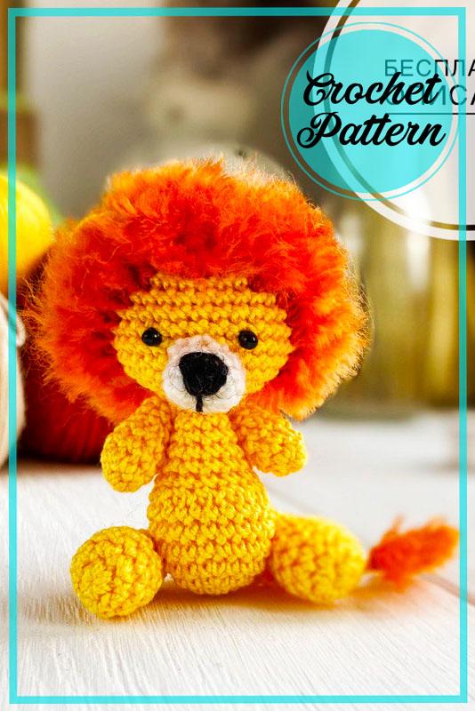 Little Lion Amigurumi Free Crochet Pattern