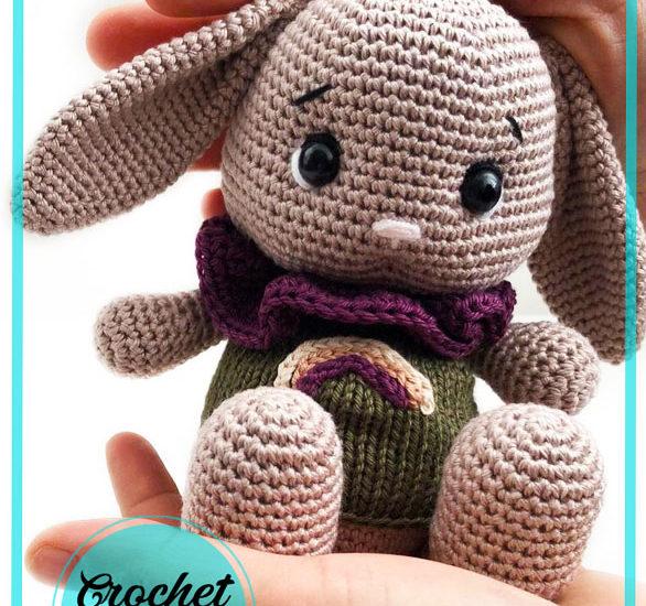 Little Chubby Bunny Amigurumi Free Pattern