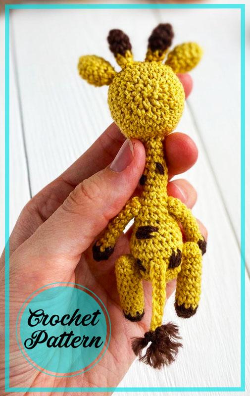 Little Giraffe Amigurumi Free Crochet Pattern