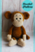 Plush Velvet Monkey Amigurumi Free Crochet Pattern