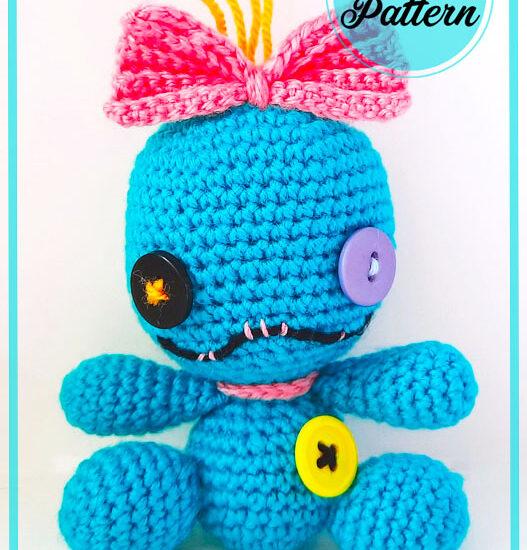 Scrap Doll Amigurumi Free Crochet Pattern