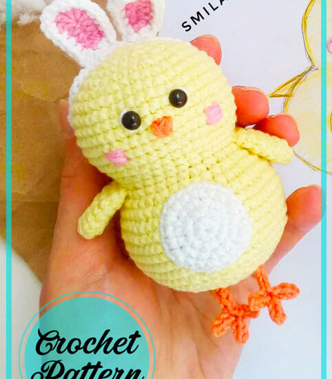 Little Chicken Amigurumi Free Crochet Pattern