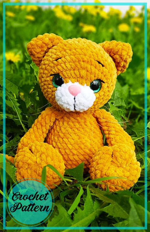 March Cats Amigurumi Crochet Pattern