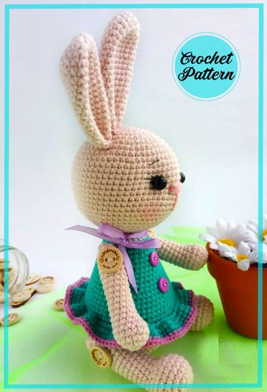 Bunny Martha Amigurumi Free Crochet Pattern