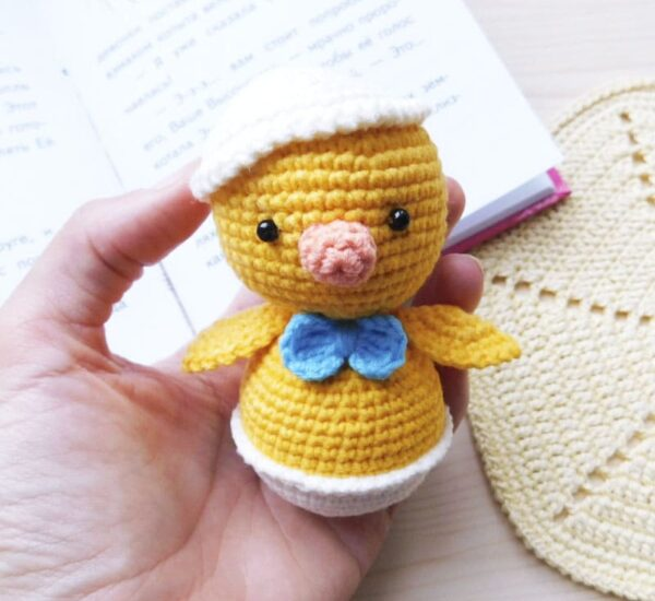 Chicken Baby Amigurumi Crochet Pattern
