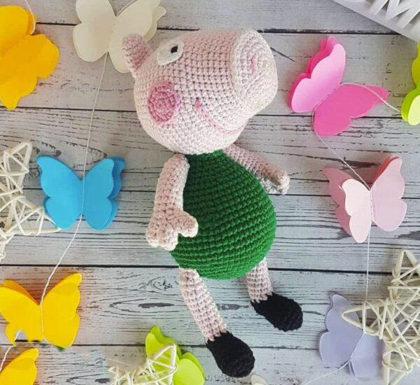 Peppa Pig George Amigurumi Crochet Pattern