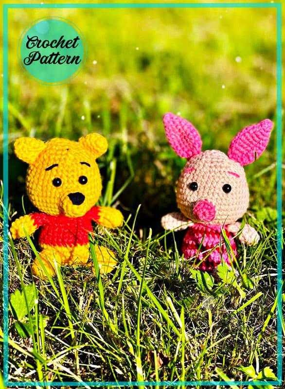 Piglet Keychain Amigurumi Free Crochet Pattern