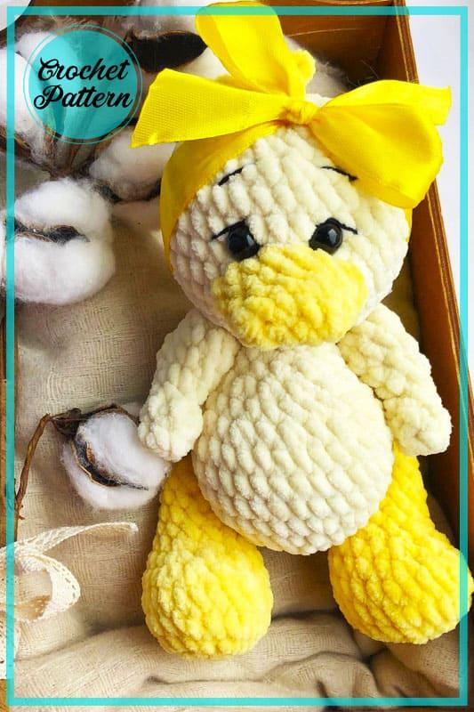 Plüsch Baby Ente Amigurumi Häkelanleitung