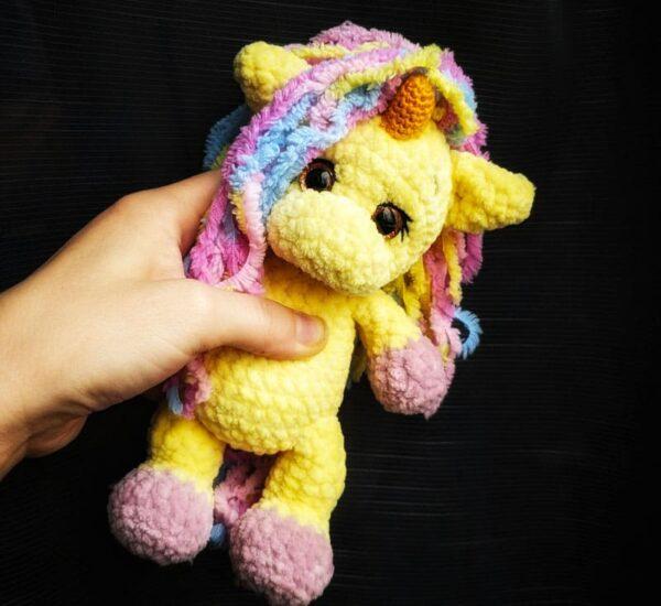 Plush Baby Unicorn Amigurumi Crochet Pattern