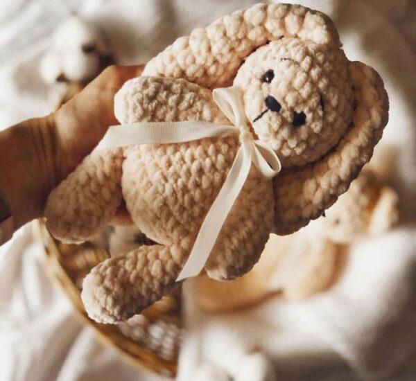 Plush Bear and Bunny Amigurumi Crochet Pattern