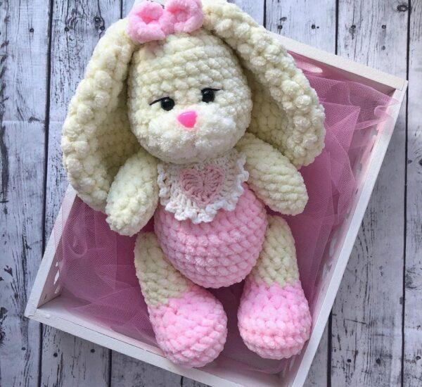Plush Sonia Bunny Amigurumi Crochet Pattern