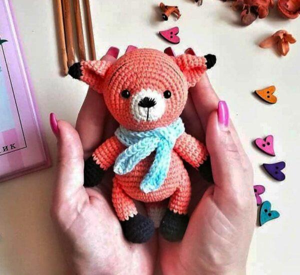 Richie the Fox Amigurumi Crochet Pattern