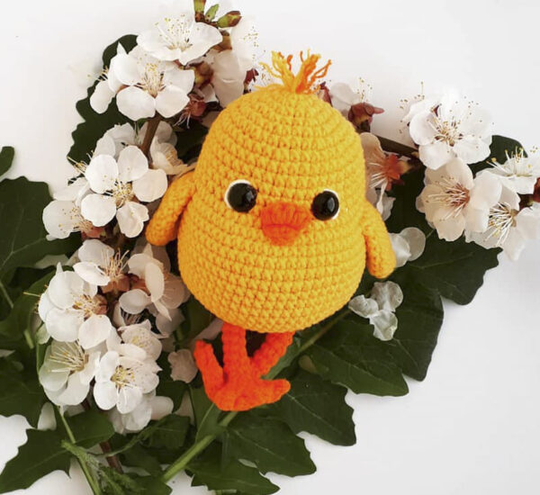 SunPalm Chick Amigurumi Crochet Pattern