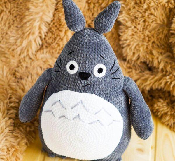 Totoro Plush Amigurumi Crochet Free Pattern